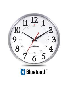 Bluetooth Analog Clock - Slim Metal Series