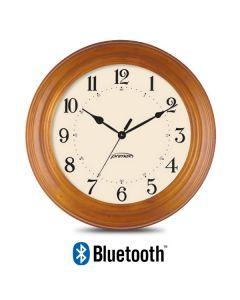 Bluetooth Analog Clock - Wood Series