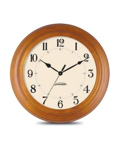 PoE Analog Clock - Wood Series